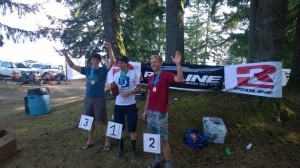 '14 Capitol Forest 100 Top Three